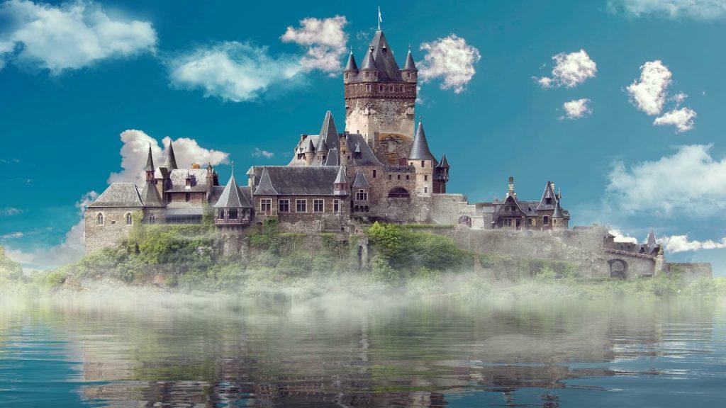 Сказка о волшебном замке
