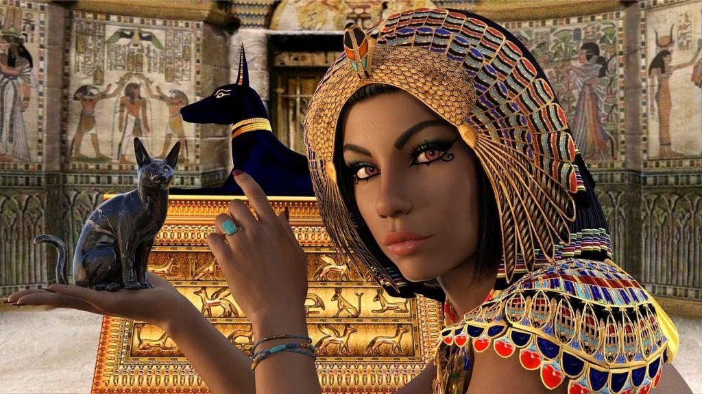 Древний миф. Нану, богиня - кошка